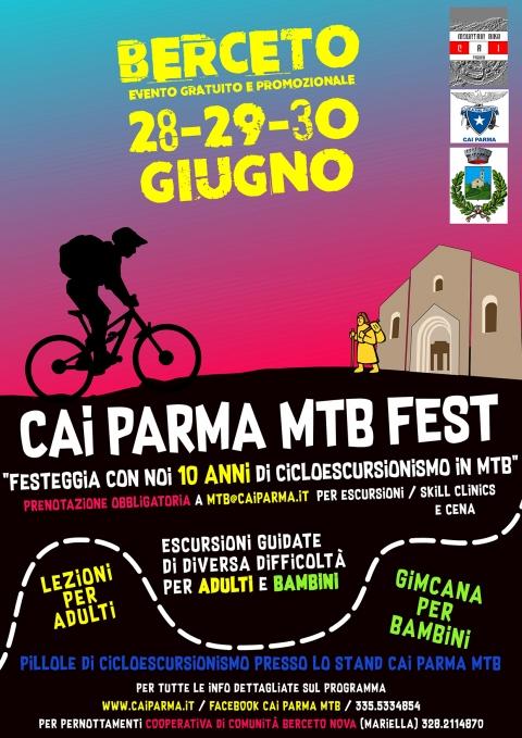28-29-30 giu 19 - CAI Parma MTB Fest a Berceto